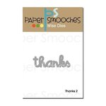 Paper Smooches - Dies - Thanks Word 2