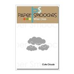 Paper Smooches - Dies - Cute Clouds