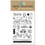 Paper Smooches - Clear Acrylic Stamps - Metropolis
