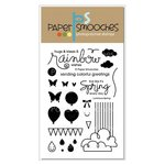 Paper Smooches - Clear Acrylic Stamps - Luminous Spring