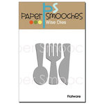Paper Smooches - Dies - Flatware