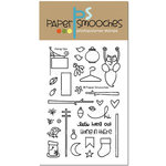 Paper Smooches - Clear Acrylic Stamps - Hang Ups