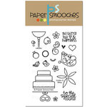 Paper Smooches - Clear Acrylic Stamps - Hubby And Wifey
