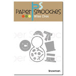 Paper Smooches - Christmas - Dies - Snowman