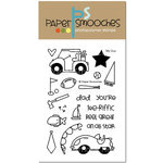 Paper Smooches - Clear Acrylic Stamps - My Guy