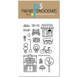 Paper Smooches - Clear Acrylic Stamps - Promenade