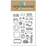 Paper Smooches - Clear Acrylic Stamps - Wake Up