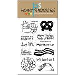 Paper Smooches - Clear Acrylic Stamps - Calorie Free