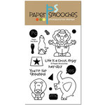 Paper Smooches - Clear Acrylic Stamps - Enjoy the Show