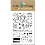 Paper Smooches - Christmas - Clear Acrylic Stamps - Cool Dudes