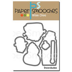 Paper Smooches - Christmas - Dies - Snowdudes
