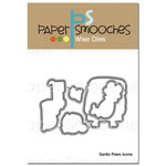 Paper Smooches - Christmas - Dies - Santa Paws Icons