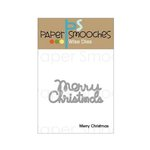Paper Smooches - Christmas - Dies - Merry Christmas