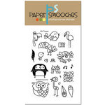 Paper Smooches - Clear Acrylic Stamps - My Peeps