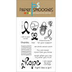 Paper Smooches - Clear Acrylic Stamps - Hope