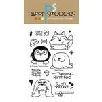 Paper Smooches - Clear Acrylic Stamps - Chilly Chums