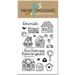 Paper Smooches - Clear Acrylic Stamps - Bitty Bungalows