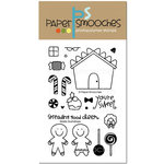 Paper Smooches - Christmas - Clear Acrylic Stamps - Giddy Gumdrops