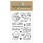 Paper Smooches - Christmas - Clear Acrylic Stamps - Comforting Hugs