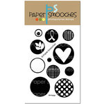 Paper Smooches - Clear Acrylic Stamps - Whirligigs