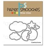 Paper Smooches - Dies - Cosmos Icons
