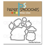 Paper Smooches - Dies - Fanciful Fall Icons
