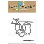 Paper Smooches - Dies - Free Spirits Icons