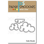 Paper Smooches - Dies - Curly Clouds