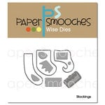 Paper Smooches - Christmas - Dies - Stockings