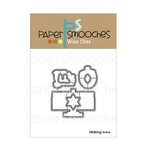 Paper Smooches - Dies - Kibitzing Icons