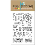 Paper Smooches - Clear Acrylic Stamps - Great Chemistry