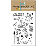 Paper Smooches - Clear Acrylic Stamps - Royal Cuteness