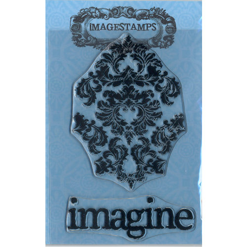Photocentric Inc. - Imagestamps - Clear Acrylic Stamps - Damasked