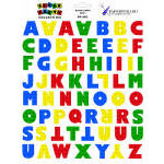 Paper Wizard - Block Party Collection - Lego - Stickers - Alphabet