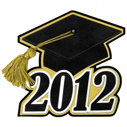 Paper Wizard - Die Cuts - Graduation Cap 2012