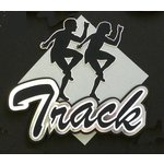 Paper Wizard - Old School Sports Collection - Die Cuts - Track Title
