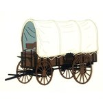 Paper Wizard - Die Cuts - Covered Wagon