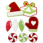 Paper Wizard - Christmas - Die Cuts - Christmas Fun Minis