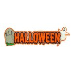 Paper Wizard - Holidays Collection - Die Cuts - Halloween Title