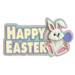 Paper Wizard - Holidays Collection - Die Cuts - Happy Easter - Two