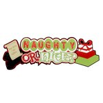 Paper Wizard - Christmas - Die Cuts - Naughty or Nice