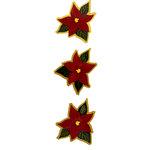 Paper Wizard - Christmas - Poinsettia Minis