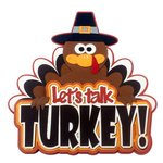 Paper Wizard - Die Cuts - Let's Talk Turkey Title