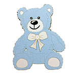 Paper Wizard - Oh Baby Collection - Teddy Bears Minis - Blue