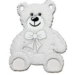 Paper Wizard - Oh Baby Collection - Teddy Bears Minis - White