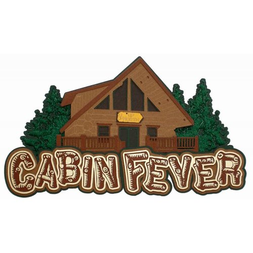 Paper Wizard - Die Cuts - Cabin Fever