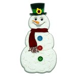 Paper Wizard - Happy Holidays Collection - Christmas - Die Cuts - Snowman
