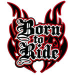 Paper Wizard - Die Cuts - Born to Ride Title