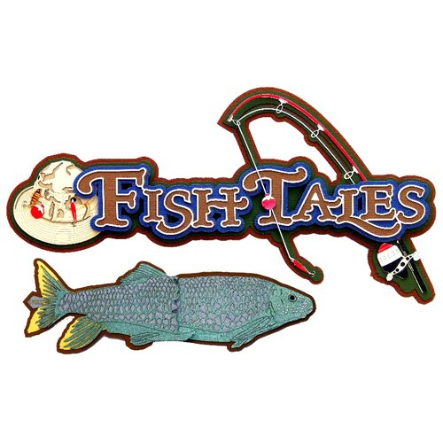 Paper Wizard - Die Cuts - Fish Tales