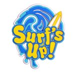 Paper Wizard - Beach Travel Collection - Die Cuts - Surf's Up Title